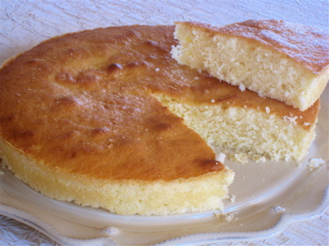 Yoghurt and coconut cake